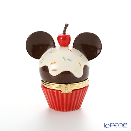Lenox 'Disney - Mickey Mouse Cupcake' 3LNL833-342 Treasure Box H8.5cm
