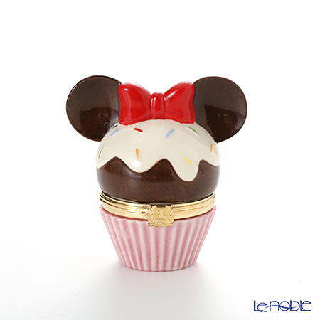 Lenox 'Disney - Minnie Mouse Cupcake (Ribbon)' 3LNL833-343 Treasure Box H8cm