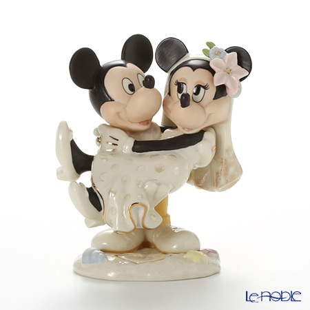 Lenox Mickey and Minnie's Dream Wedding Mickey & Minnie's Dream Beach Wedding 3LNL836-701
