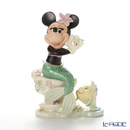 Lenox 'Disney - Minnie Mouse Under the Sea (The Little Mermaid, Flounder)' 3LNL837-882 Figurine H18cm