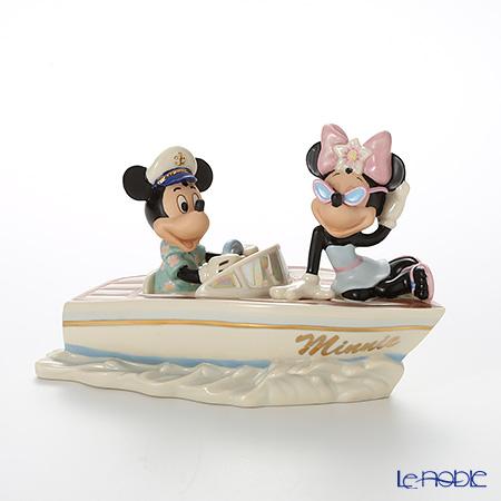 レノックス ディズニーフィギュリン ミッキー&フレンズ クルージング ウィズ ミニー 3LNL837-884