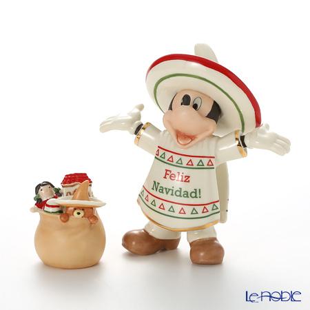 レノックス ディズニーフィギュリン ミッキー&フレンズ メキシカンミッキー 3LNL839-656