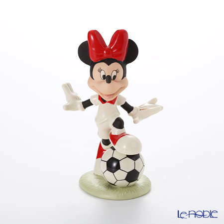Lenox Mickey and Minnie Sports Soccer Star Minnie 3LNL840-537