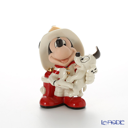 Lenox 'Disney - Mickey Mouse Fire Chief (Puppy)' 3LNL842-699 Figurine H12cm
