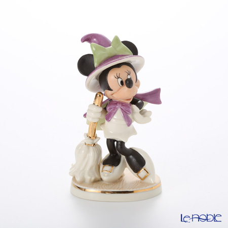 Lenox 'Disney - Bewitching Minnie Mouse (Halloween, Witch)' 3LNL842-701 [Limited Edition 1500pcs] Figurine H11cm