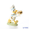Lenox 'Disney - Donald Duck Band Leader (Marching Band, Trumpet)' 3LNL843-559 Figurine H15.5cm