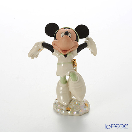 Lenox 'Disney - Peter Pan Mickey Mouse' Green 3LNL843-566 Figurine H12cm