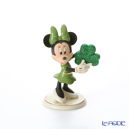 Lenox Mickey and Friends Disney's Erin Go Bragh Minnie Figurine 3LNL845-499