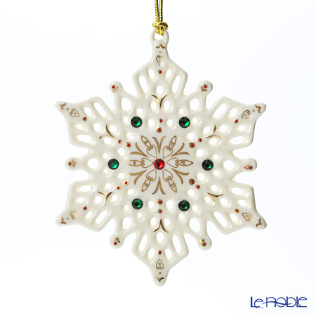Lenox China Jewels Snowflake Ornament 846982