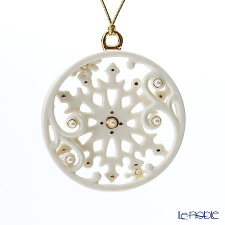 Lenox 'Winter Wonderland - Snowflake' 847013 Christmas Ornament 8cm