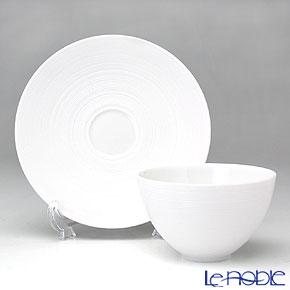 J.L.Coquet Hemisphere Bowl medium Φ9.5 & saucer Φ14.0 cm