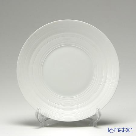 J.L コケー ヘミスフィア ホワイトサテンパンプレート 16cm