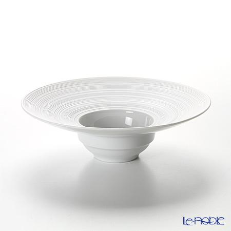 J.L コケー エミスフェール ホワイトサテン リム深型プレート(S) 19cm