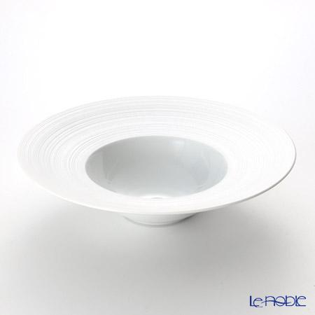 J.L コケー ヘミスフィア ホワイトサテンキャビアチラー プレート 29cm