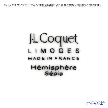 J.L coca hemisphere El sepia (caviar) Dinner plate 26 cm