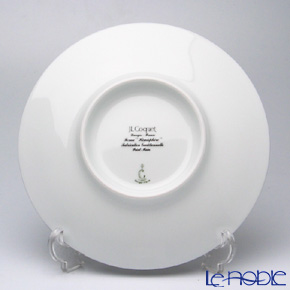 J.L Coquet / Limoges 'Hemisphere' Platinum Dessert Plate 21cm