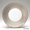 J.L Coquet / Limoges 'Hemisphere' Platinum Dinner Plate 26cm