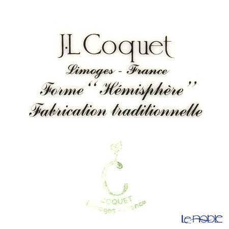 J.L.Coquet Hemisphere Rayé platine (Platinum stripes) Teacup & Saucer 230 cc