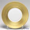 J.L.Coquet Hemisphere Auke or (Gold full rim) Presentation Plate 31 cm