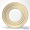 J.L Coquet / Limoges 'Hemisphere - Stripes' Gold Charger Plate 31.5cm