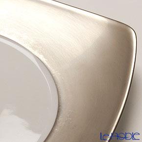 J.L.Coquet Prelude 1982 Dessert plate 21 cm, platinum full rim