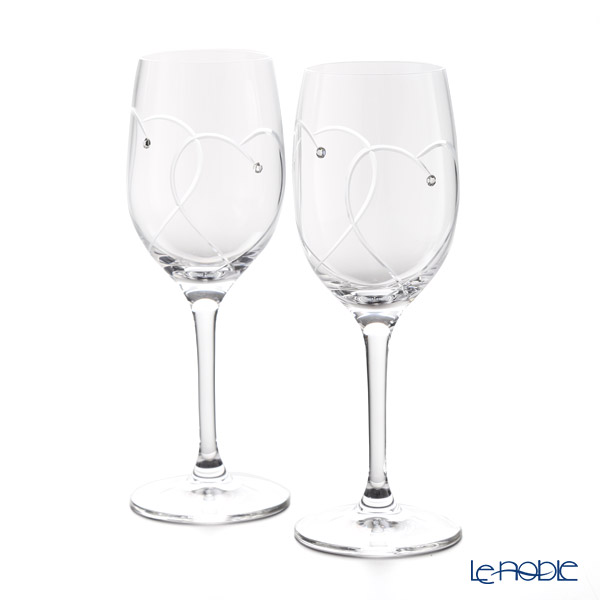 Wedgwood 'Promesis - Two Hearts' Wine Glass 280ml (set of 2)
