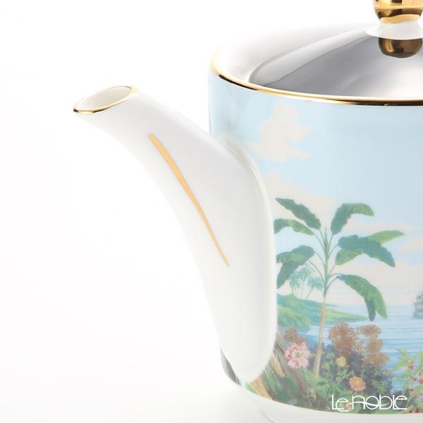 Roy Kirkham 'Blenheim Palace - Indian Room' Black Alice Tea Pot 1250ml