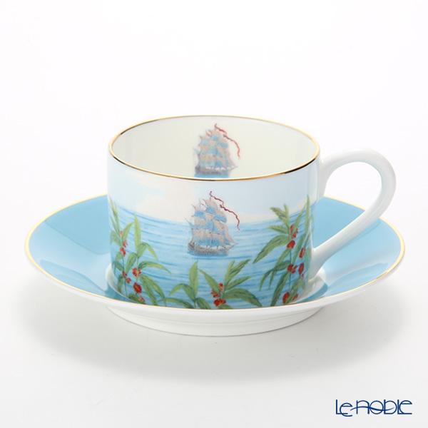 ロイカーカム ブレナム宮殿(インディアンルーム) ティーカップ&ソーサー(ブルー)