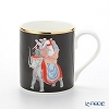 Roy Kirkham Blenheim Palace Indian Room China Collection Larch Mug 280 cc, elephant-black