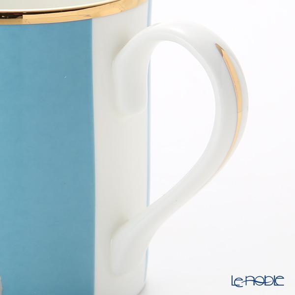 Roy Kirkham 'Blenheim Palace - Indian Room / Elephant (Animal)' Blue Mug 280ml