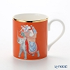 Roy Kirkham Blenheim Palace Indian Room China Collection Larch Mug 280 cc, elephant-orange