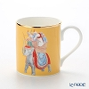 Roy Kirkham Blenheim Palace Indian Room China Collection Larch Mug 280 cc, elephant-yellow