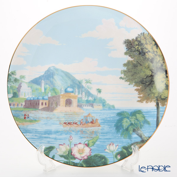 Roy Kirkham 'Blenheim Palace - Indian Room' Plate 31cm