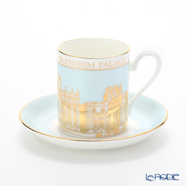 ロイカーカム ブレナム宮殿 コーヒーカップ&ソーサー