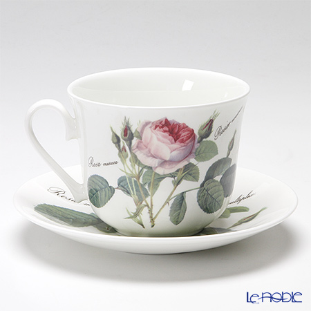Roy Kirkham 'Redoute Rose' Large Breakfast Cup & Saucer 450ml