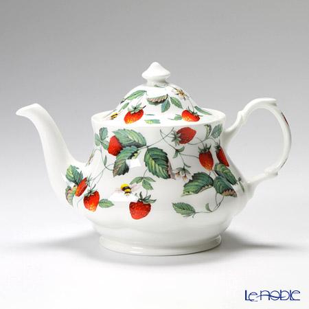Roy Kirkham 'Alpine Strawberry (Fruit & Flower)' Large Round Tea Pot 1000ml
