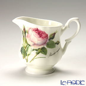 Roy Kirkham Redoute Rose Cream Jug 9cm 200ml