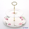 Roy Kirkham Rose du Temps Two Tier Cake Stand
