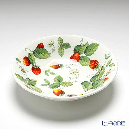 Roy Kirkham Alpine Strawberry Oatmeal Bowl depth 4.5cm 17.5cm