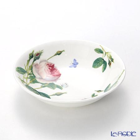 Roy Kirkham 'Palace Garden (Rose Flower & Butterfly)' Oatmeal Bowl 17.5cm