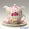 Roy Kirkham 'Sweet Pea (Flower)' Pink Tea for One (Cup & Saucer & Pot)