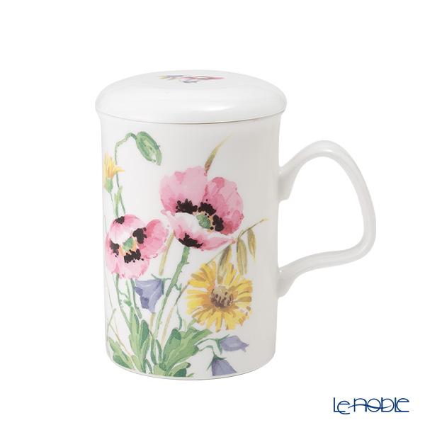 Roy Kirkham English Meadow Infuser Mug, Pink