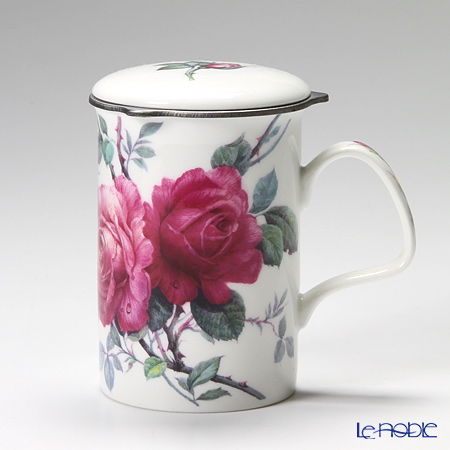 Roy Kirkham English Rose Infuser Mug, Red