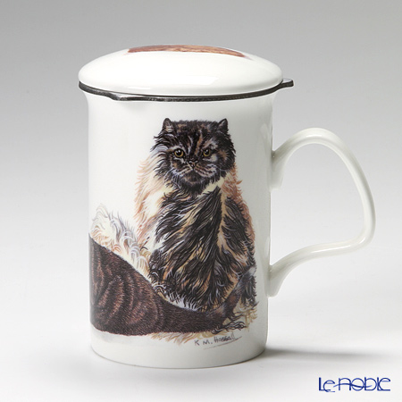Roy Kirkham Cat Galore Infuser Mug, Tor Toishells