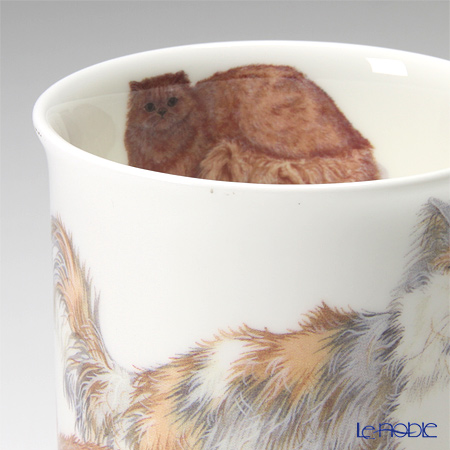 Roy Kirkham 'Cats Galore - Longhaired (Animal)' Mug with Infuser & Lid 320ml
