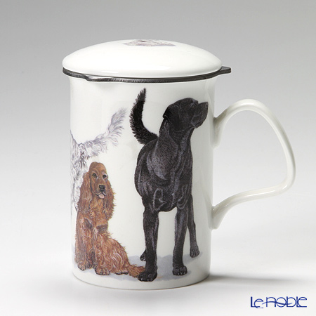 Roy Kirkham Dog Galore Infuser Mug, Gun Dogs