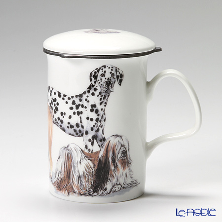 Roy Kirkham Dog Galore Infuser Mug, Utility Dogs
