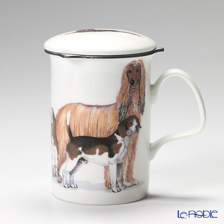 Roy Kirkham Dog Galore Infuser Mug, Hounds