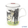 Roy Carkham Dog Collection (Shepherd) Beaker with Strainer 320cc