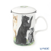 Roy Carr Cam Cat collection (Black cat) Beaker with Strainer 320cc